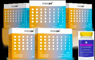 3 boite + 2 gratuite Phen24