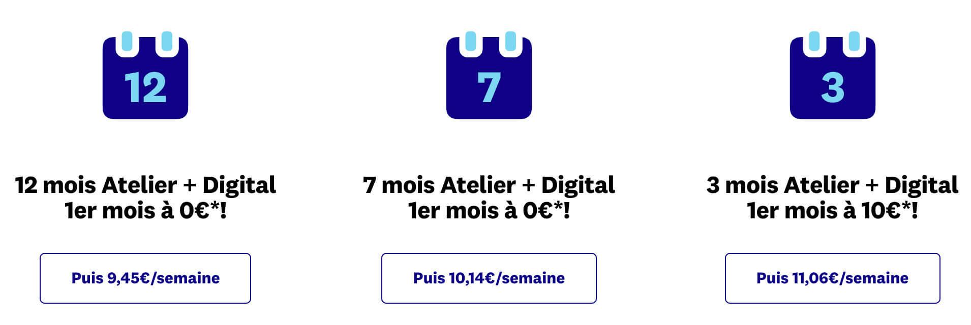 Atelier + digital WW