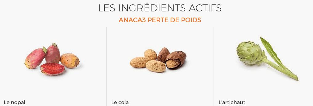 Ingredients Anaca3
