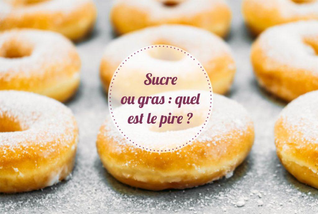 Sucre ou gras