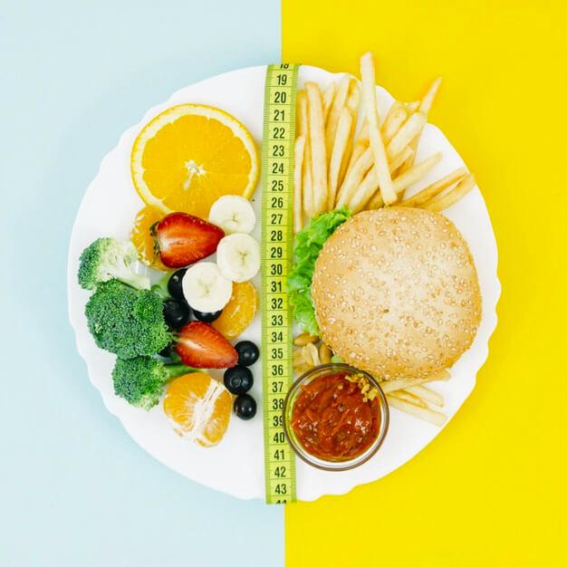 Alimentation assiette