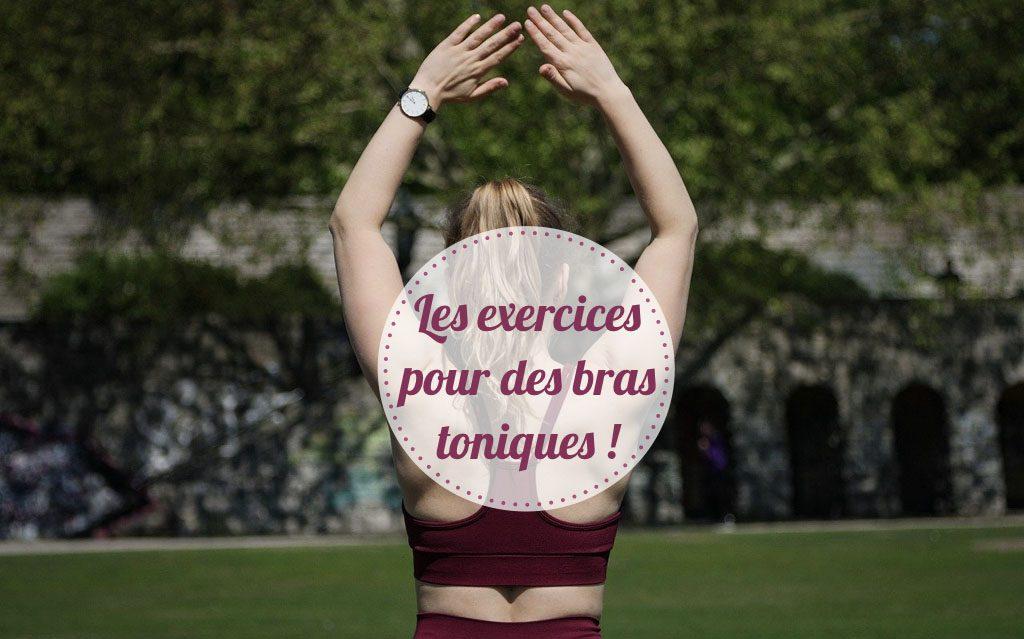 Exercice bras toniques